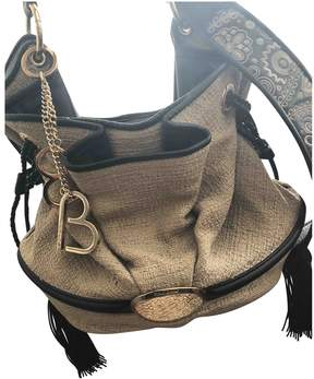 Lancel Brigitte Bardot Beige Leather Handbag