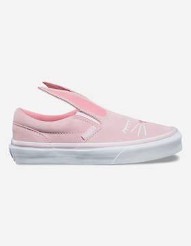 Vans Bunny Light Pink Slip-On Girls Shoes