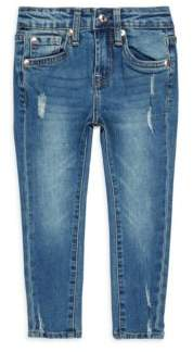 7 For All Mankind Little Girl's Distressed Jeans
