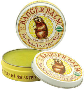 Unscented Healing Balm by Badger (2oz Balm)
