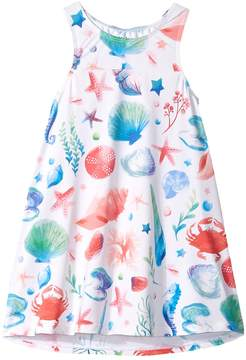 Hatley Ocean Treasures Swim Dress Cover-Up Girl's Swimwear