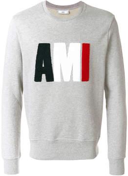 Ami Alexandre Mattiussi logo sweatshirt