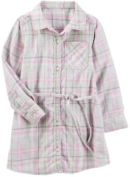 Osh Kosh Oshkosh Bgosh Girls 4-12 Flannel Shirt