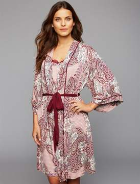 A Pea in the Pod Tie Front Maternity Robe