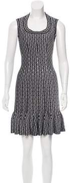 Alaia Pattern Mini Dress w/ Tags