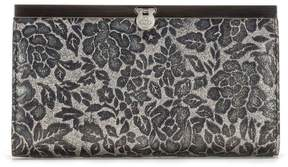 Patricia Nash Glitter Rose Collection Cauchy Wallet