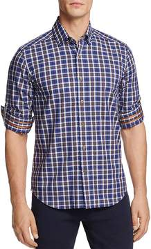 Robert Graham Marten Plaid Slim Fit Button-Down Shirt - 100% Exclusive