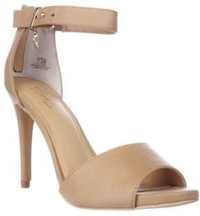 Thalia Sodi Ts35 Jose Ankle Strap Sandals, Nude.