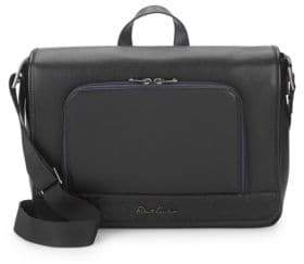 Robert Graham Leather Crossbody Briefcase