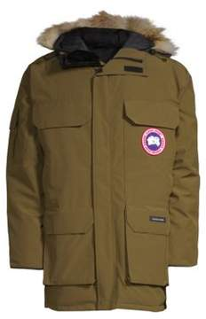 Canada Goose Expedition Coyote Fur-Trimmed Parka