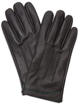 Ted Baker Roots Leather Driving Gloves