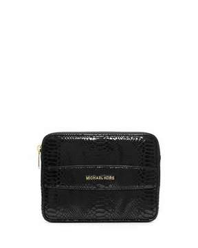 MICHAEL Michael Kors Mini Tablet Clutch Bag, Black - BLACK - STYLE