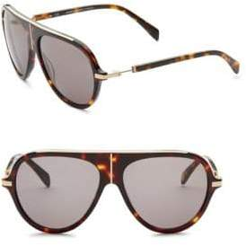 Balmain 60MM Aviator Sunglasses
