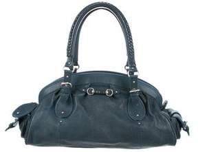 Christian Dior Buckle-Embellished Dome Bag