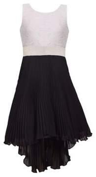 Iris & Ivy Girl's Sleeveless Lace A-Line Dress