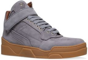 Givenchy Tyson Nubuck Mid-Top Sneakers