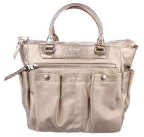 MZ Wallace Leather-Trimmed Mayfair Satchel