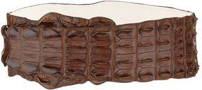 Balmain Crocodile Waist Belt