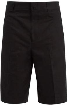 Lanvin Cotton-twill bermuda shorts