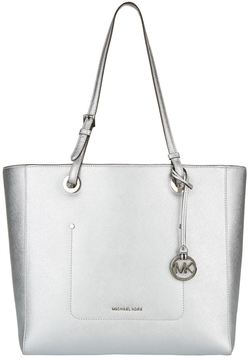 Michael Kors Large Walsh Tote Bag - SILVER - STYLE