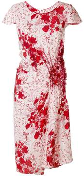 Ermanno Scervino floral fitted dress