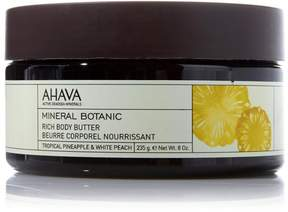 Apple AHAVA Mineral Botanic Rich Body Butter - Pineapple and Peach