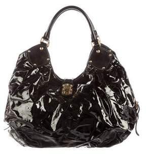 Louis Vuitton Surya L Hobo - BLACK - STYLE