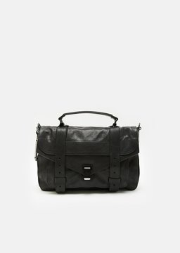 Proenza Schouler PS1 Medium Leather Bag Black Size: One Size