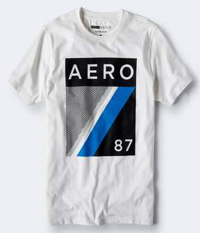 Aeropostale Aero 87 Diagonal Stretch Graphic Tee