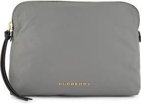 Burberry Logo nylon pouch - THISTLE GREY - STYLE