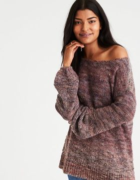American Eagle Outfitters AE Slouchy Balloon-Sleeve Sweater