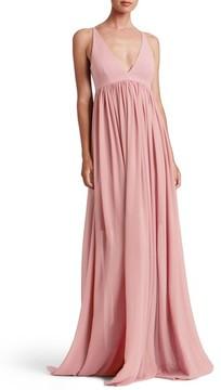 Dress the Population Women's Phoebe Chiffon Gown