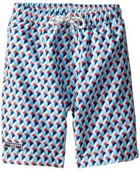 Toobydoo Escher Swim Shorts (Infant/Toddler/Little Kids/Big Kids)