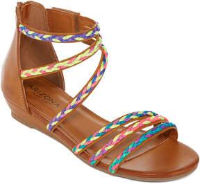 Arizona Whisper Girls Flat Sandals - Little Kids/Big Kids