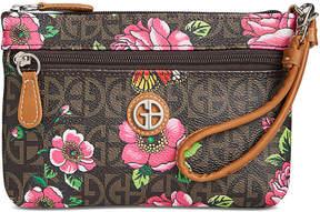 Giani Bernini Block Signature Floral Wristlet, Created For Macy's