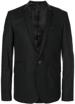 Les Hommes classic fitted blazer