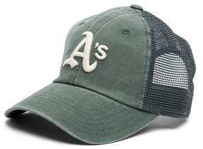 American Needle Oakland Athletics Raglan Bones Mesh Baseball Cap