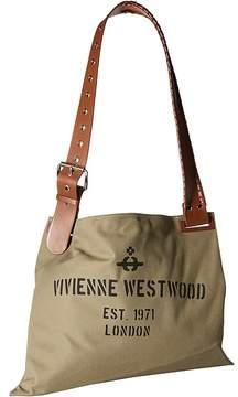 Vivienne Westwood Charlotte Canvas Shopper Handbags