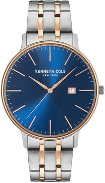 Kenneth Cole New York Kenneth Cole Men's Two-Tone Stainless Steel Bracelet Watch 42mm KC15095002