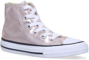 Converse High-Top Metallic Sneakers