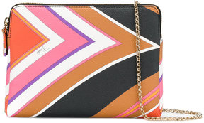 Emilio Pucci patterned shoulder bag