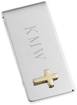 Asstd National Brand Personalized Money Clip with Cross