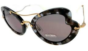 Miu Miu Mu11r Sunglasses Color Uah-6x1 Lilac Havana & Brown Purple Size 52mm