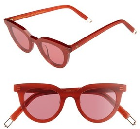 Gentle Monster Women's Eye Eye 45Mm Cat Eye Sunglasses - Red