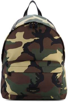 Givenchy camouflage backpack