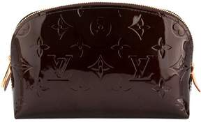 Amarante Monogram Vernis Leather Cosmetic Pouch