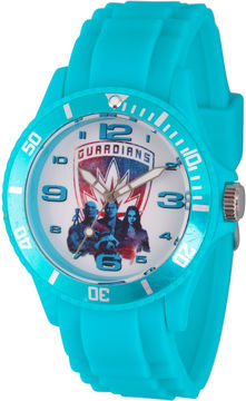 Marvel Guardian Of The Galaxy Mens Blue Strap Watch-Wma000102