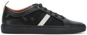 Bally contrast stripe sneakers
