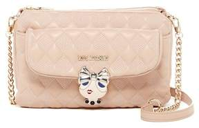 Love Moschino Quilted Buckle Shoulder Bag