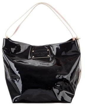 Kate Spade Patent Leather Hobo Bag - BLUE - STYLE